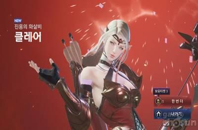 넷마블, 세븐나이츠2 첫 신규 영웅 '진홍의 화살비 클레어' 결투장 강세!